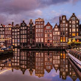 amsterdam by Krishanu Roy - City,  Street & Park  Vistas