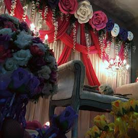 Malay wedding by Fakhruddin Fazil - Wedding Other ( wedding, malay, pelamin, flower )