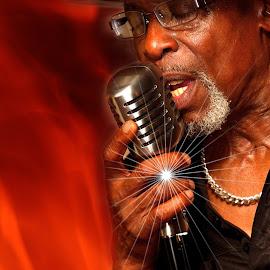 The Soul Man by Bob White - People Musicians & Entertainers ( music, soul singer, male, soul, musician, singer, men, portrait, man,  )