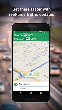 Maps - Navigation & Transit APK screenshot thumbnail 1