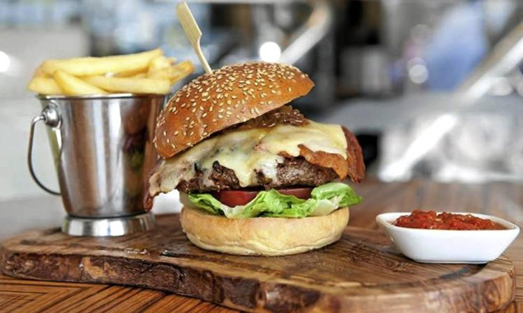 You'll pay more than R300 for a burger at London's bbar