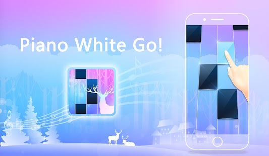 Piano White Go!