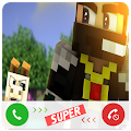 Fake Call Minecraft APK for Bluestacks
