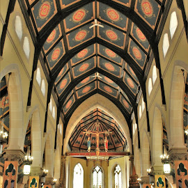 Saint Patrick's Hamilton, Ontario by Carl VanderWouden - Buildings & Architecture Places of Worship