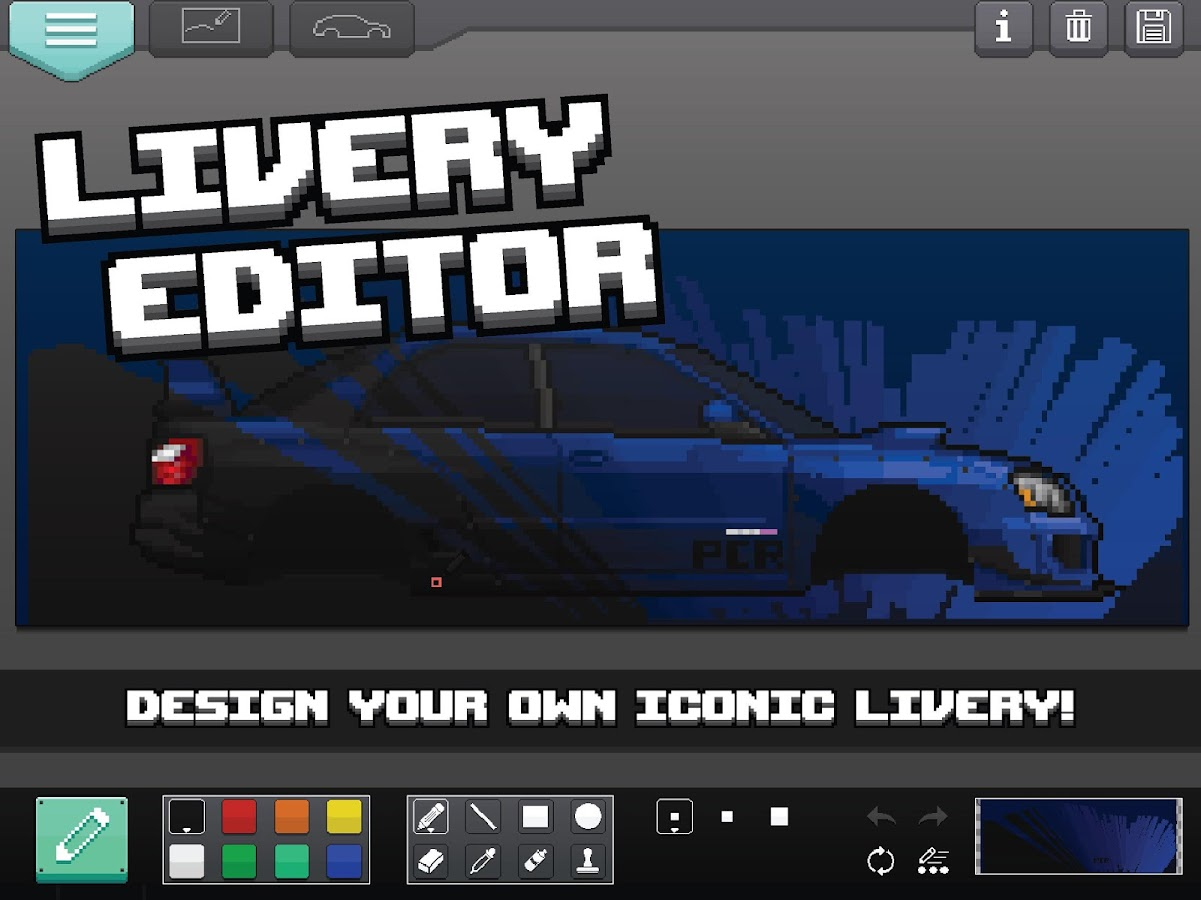 Pixel Car Racer Screenshot 16