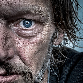 Homeless  by Dragan Rakocevic - People Portraits of Men