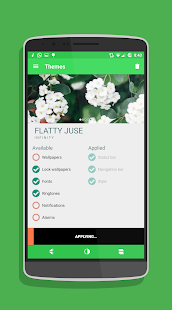 Flatty Juse CM12.1/cm12 Theme Screenshot