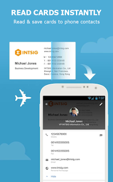 CamCard Free - Business Card R APK screenshot thumbnail 2