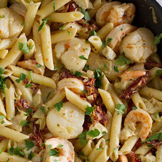 Penne Pasta With Shrimp And Scallops Recipes