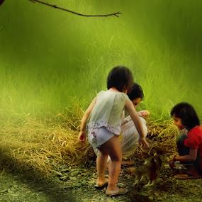 by Agus Rahiem - Babies & Children Children Candids