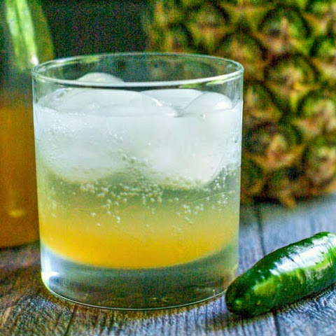 Pineapple Jalapeno Shrub Cocktail