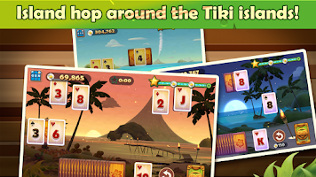 Screenshot of Solitaire TriPeaks