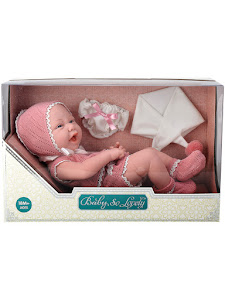 """Пупс серии """"Anna de Wailly"""" original 38 см, со вторым комплектом одежды, розовый"""
