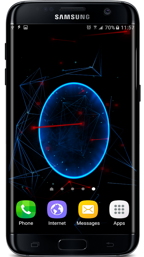 Abstract Particles Wallpaper Screenshot 5