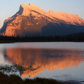 Vermillion reflection by Karl Jones - Landscapes Waterscapes ( #GARYFONGDRAMATICLIGHT, #WTFBOBDAVIS,  )