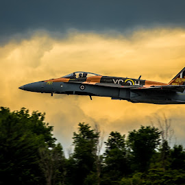 cf-18  by Philippe Lacroix - Transportation Airplanes