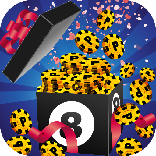 Coins 8 Ball Pool Gift Prank APK v1.0