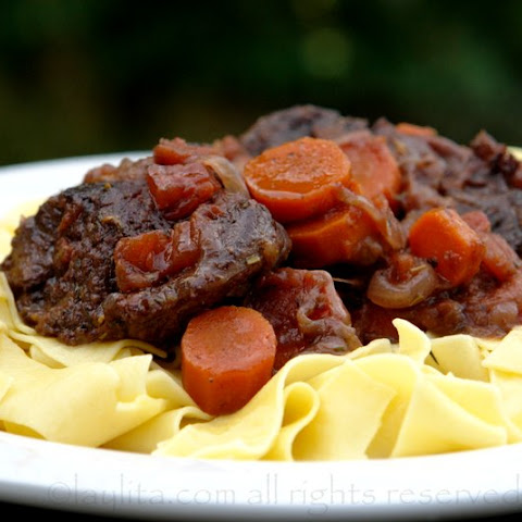 Beef daube or Provencal/French beef stew