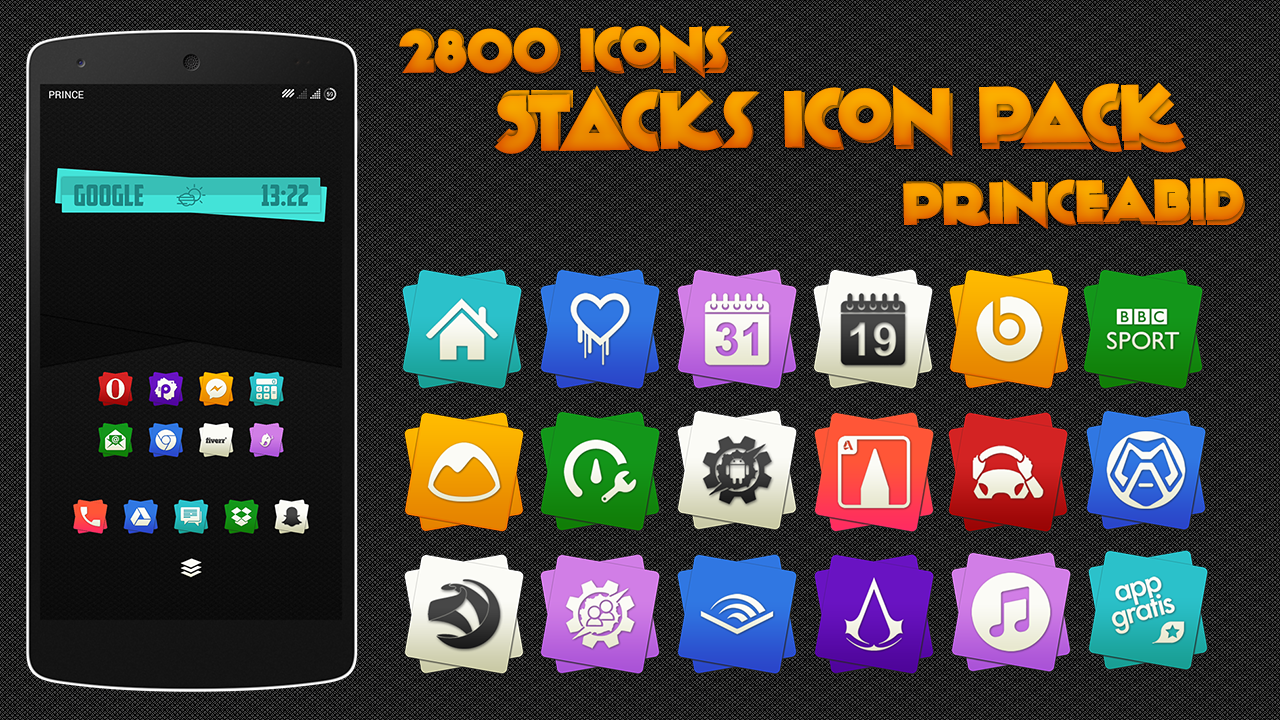Stacks Icon Pack Screenshot 6