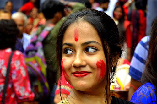 Artistic Beauty  by Santanu Goswami - People Portraits of Women