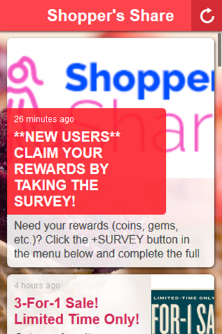 Shopper's Share Screenshot 1