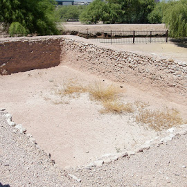 Pueblo Grand Museum Hohokam by Donna Probasco - Novices Only Landscapes