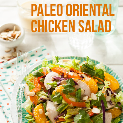 Paleo Oriental Chicken Salad