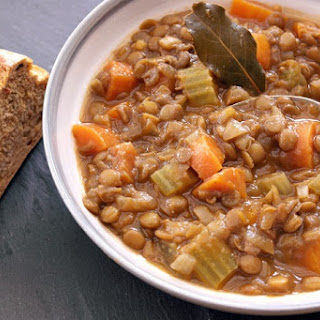 Carrot And Green Lentil Soup Recipes