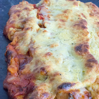 Low Carb Chicken Parmesan Calzone