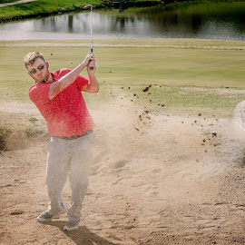 Par3 by Tiffiny Dillow - Sports & Fitness Golf ( senior, sand, golf, senior portrait, graduation )