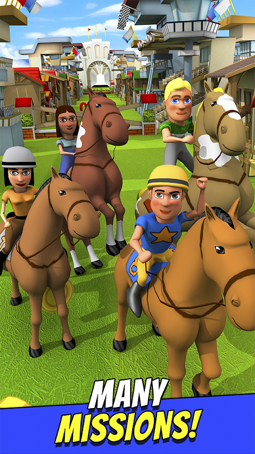 Cartoon Horse Riding Game Free Screenshot 10