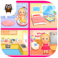 Free Download Sweet Baby Girl - Dream House and Play Time APK for Samsung