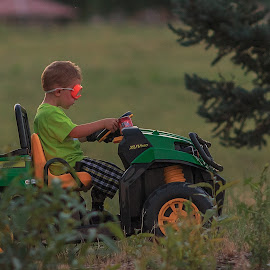 Vroom by Gary Shaddox - Babies & Children Children Candids ( young boy, youngster, candid, kids, kid )