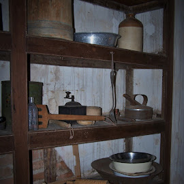Pantry by Sarah Harding - Novices Only Objects & Still Life ( still life, novices only, museum, kitchen, historic )