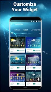 App live weather and clock widget APK for Windows Phone