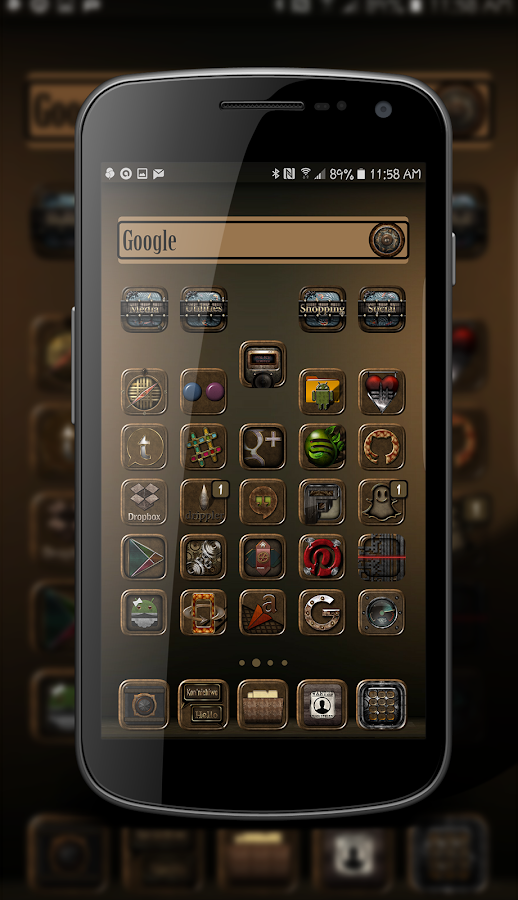 East Meets West Icon Theme Screenshot 1