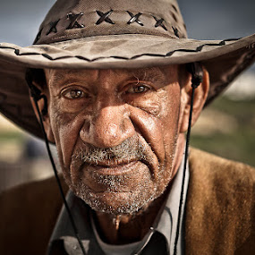Rex by Marek Biegalski - People Portraits of Men ( senior citizen )