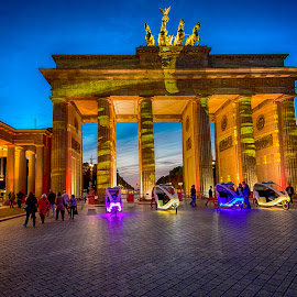 Brandenburg Gate by Pravine Chester - Digital Art Places ( photograph, digital art, germany, monument, berlin, manipulation )