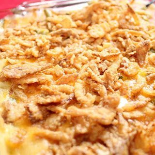 Green Bean Casserole Without the Canned Soup