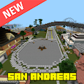 San Andreas City map for MCPE