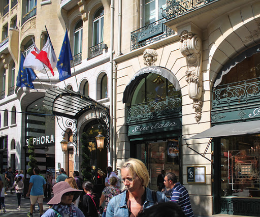 Places to shop in Champs Elysees