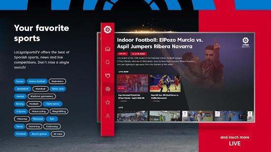 LaLiga Sports TV - Live sports in Smart TV