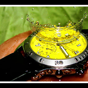 TIME : TITAN: 50m water resistant. by Alay Shah - Artistic Objects Other Objects