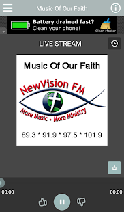 WXMF-Music Of Our Faith - screenshot
