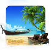 Download Full sunny beach 2D android Live wallpaper 1.1.1 APK
