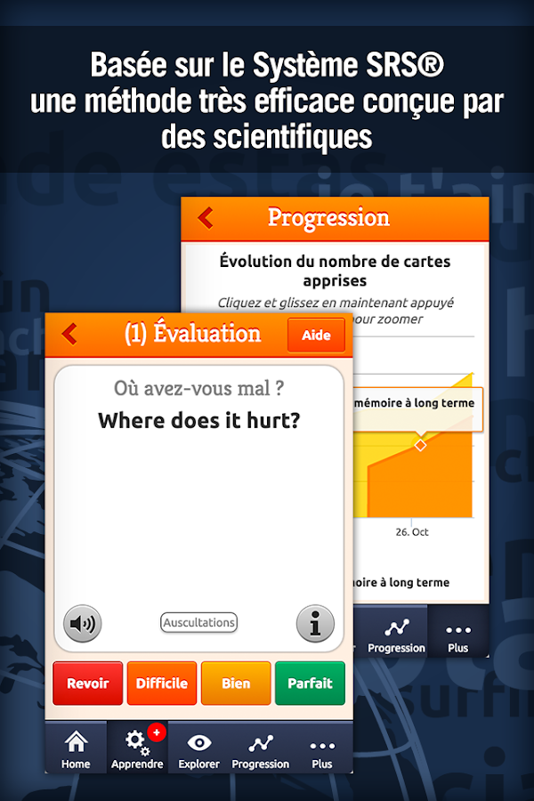 Anglais Médical - MosaLingua Screenshot 1