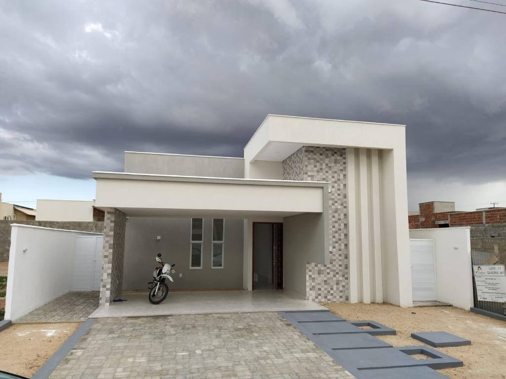 Casa com 3 dormitórios à venda, 150 m² por R$ 430.000 - Rincão - Mossoró/RN