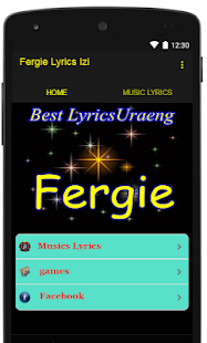 Fergie Lyrics Izi - screenshot