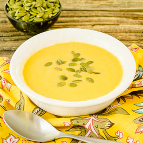 Celeriac Sweet Potato Soup