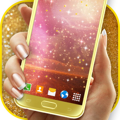 Sparkling Glitter Wallpaper (app)